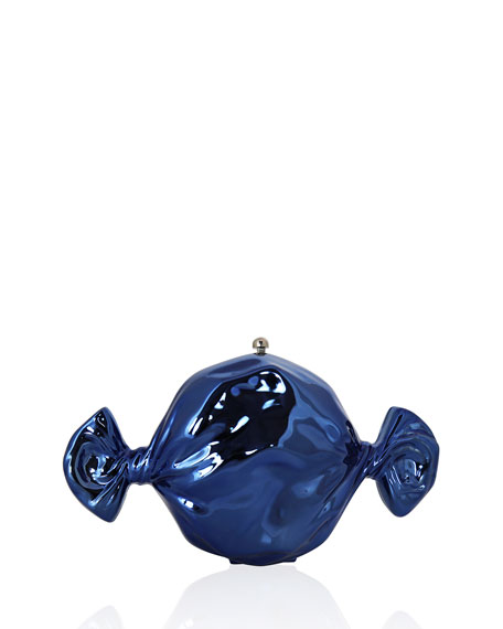 Blueberry Candy Clutch Bag