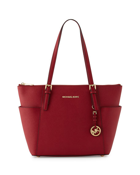 Bilderesultat for michael kors jet set cherry