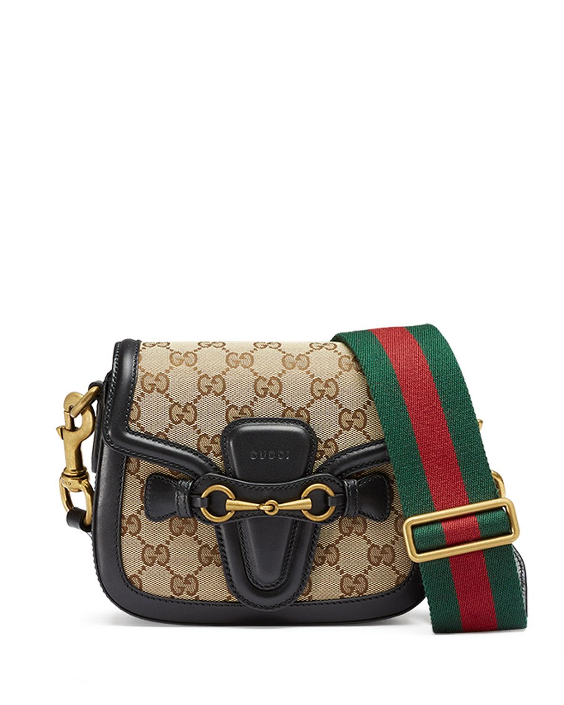 Gucci Lady Web Small GG Canvas Shoulder Bag 9734d57af573a