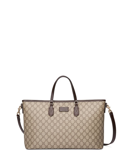 Gucci Eden GG Medium Tote Bag w/ Strap,
