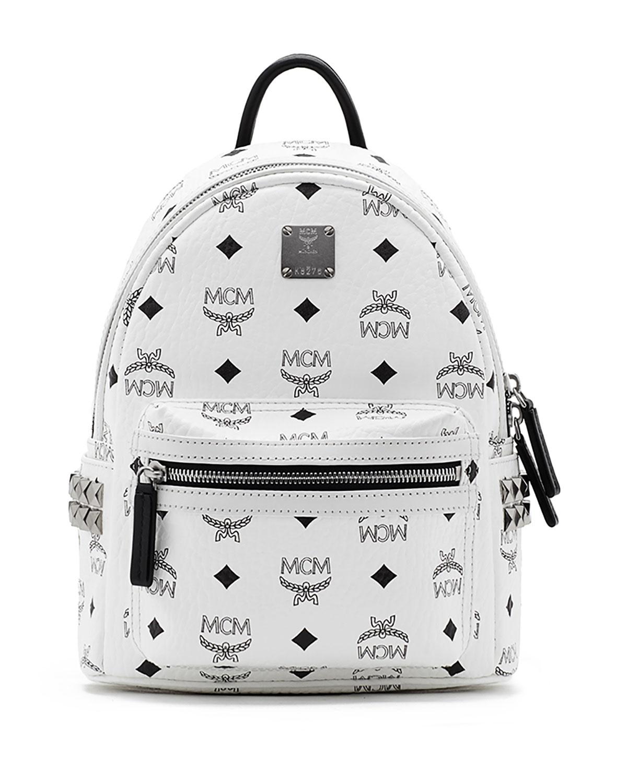 52ca0532b5b MCM Stark Visetos Small Side-Stud Backpack