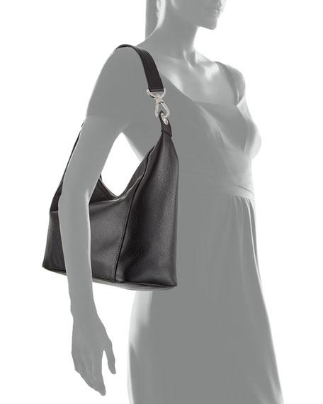 Le Foulonne Small Hobo Bag Black