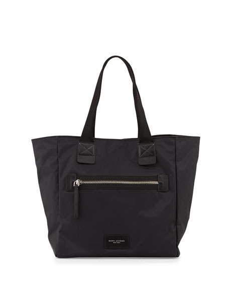 Marc Jacobs Nylon Biker North-South Tote Bag, Black