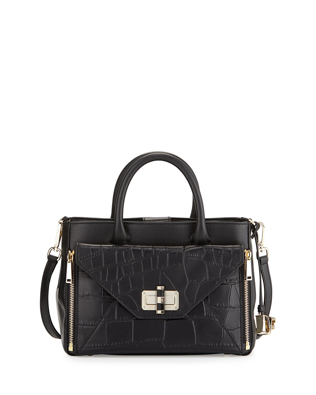 440 Gallery Secret Agent Tote Bag Black