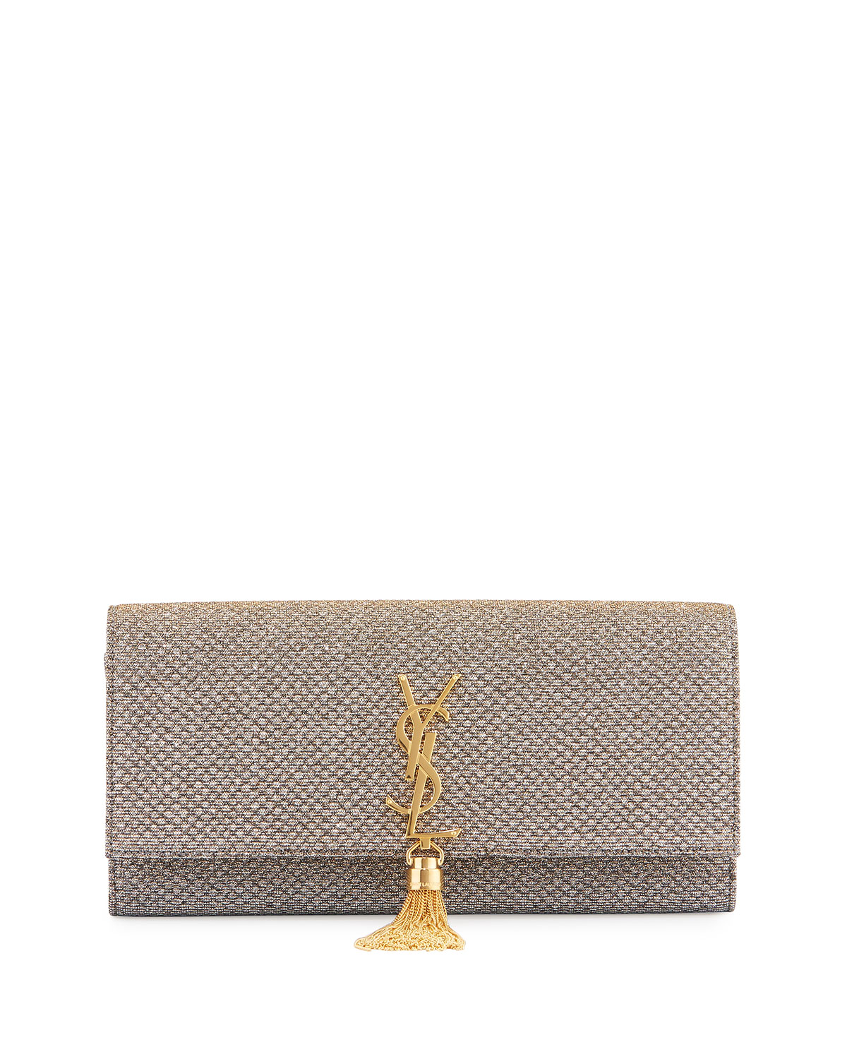 Saint Laurent Kate Monogram Tassel Clutch Bag c469c5c1c0bb6