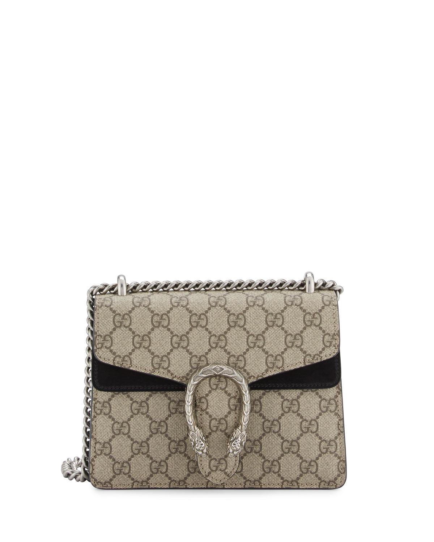 3a90ec557cc7 Gucci Dionysus GG Supreme Mini Shoulder Bag