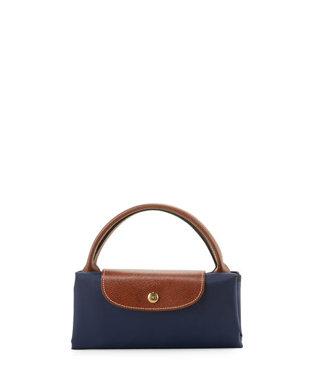 Le Pliage Large Travel Tote Bag, New Navy