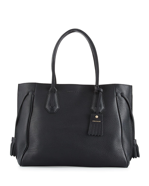 b2c0db2365 Longchamp Penelope Large Leather Tote Bag | Neiman Marcus