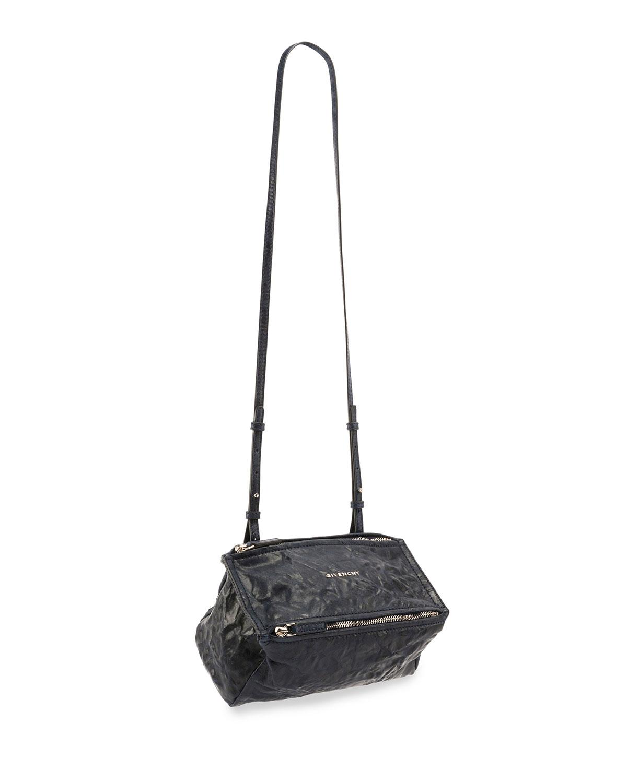 7620708b6d Givenchy Pandora Mini Leather Crossbody Bag