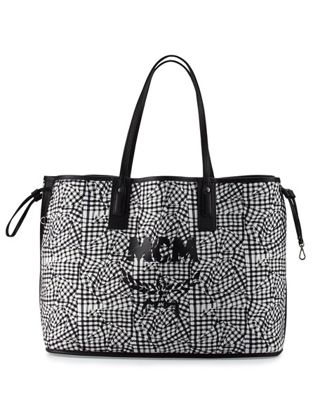 mcm liz large reversible shopper tote bag. Black Bedroom Furniture Sets. Home Design Ideas