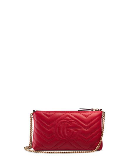 GG Marmont Mini Matelassé Chain Bag