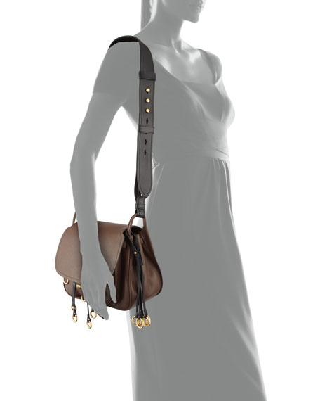 Saffiano Corsaire Hunting Shoulder Bag