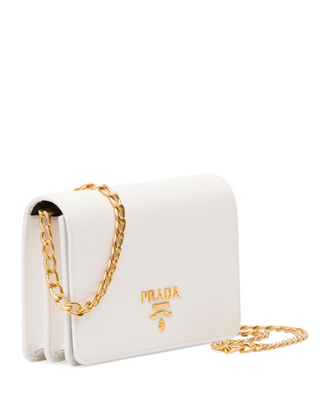 Saffiano Lux Crossbody Bag
