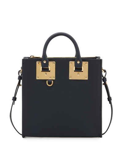Albion Square Tote Bag, Midnight Navy