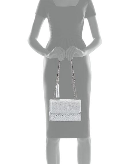 Fleming Metallic Small Convertible Shoulder Bag