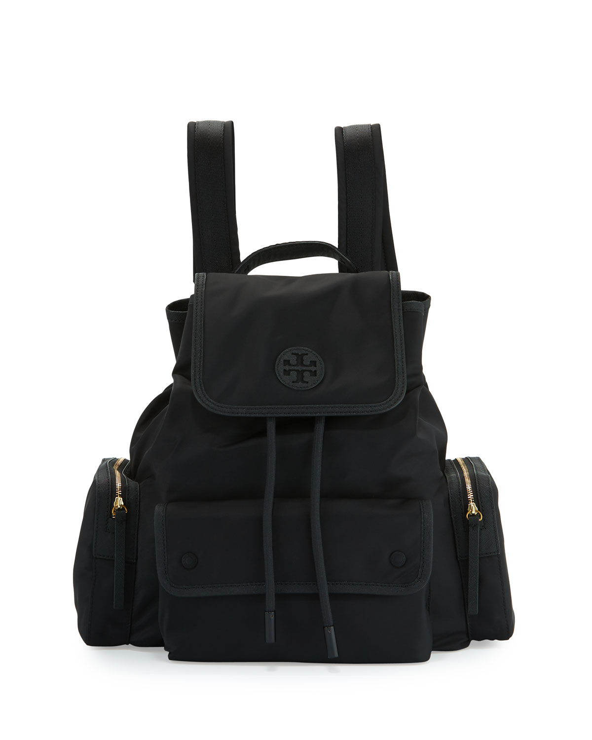 30f908d9ff Tory Burch Scout Nylon Flap Backpack
