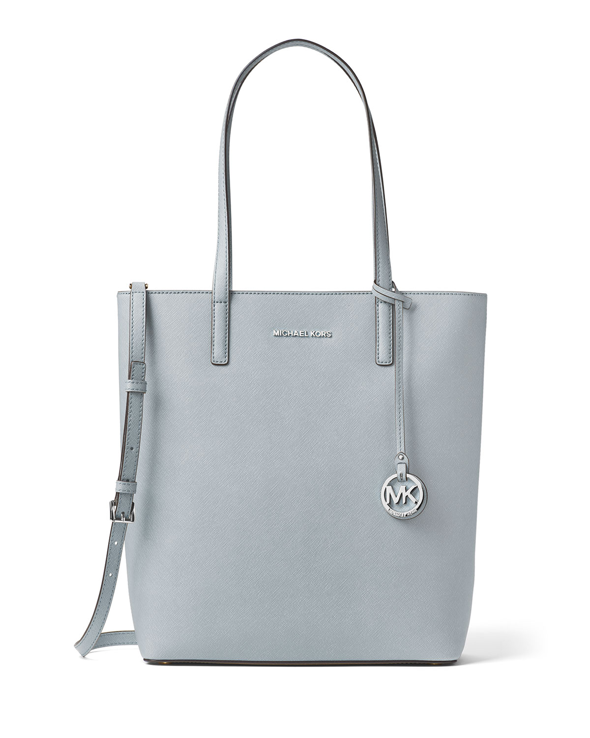 MICHAEL Michael Kors Hayley Large Top-Zip Leather Tote Bag  869eb0a2d1375