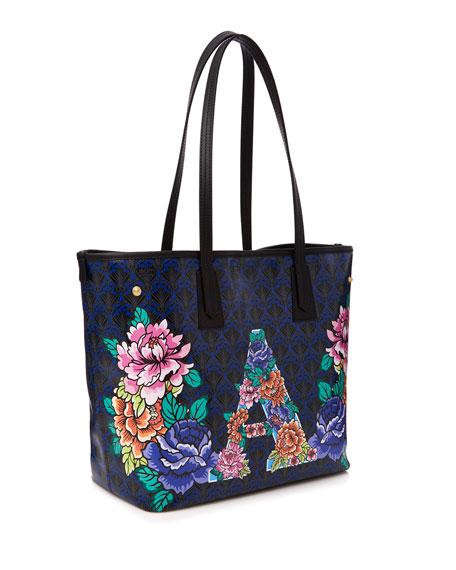 Alphabet Iphis-Print Tote Bag