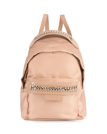 mini Falabella Go backpack - Metallic Stella McCartney dFdIhcD