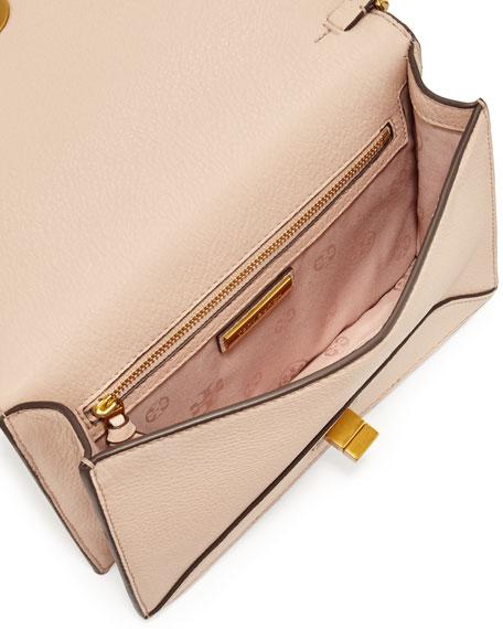 Kira Envelope Leather Crossbody Bag