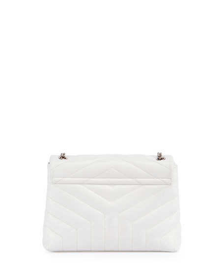 Loulou Monogram Small Y-Quilted Chain Shoulder Bag
