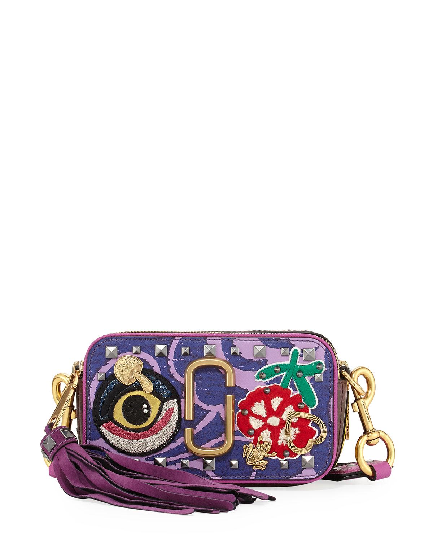 0894db796920 Marc Jacobs Tapestry Snapshot Crossbody Bag