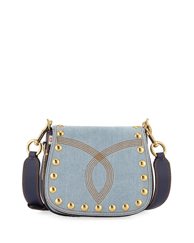 d36a40efc895 Marc Jacobs Nomad Small Studded Saddle Bag