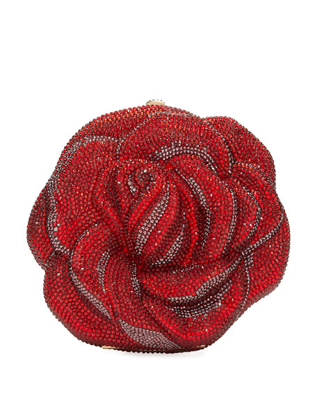 Judith Leiber Couture Disney's® Beauty and the Beast Rose Minaudiere