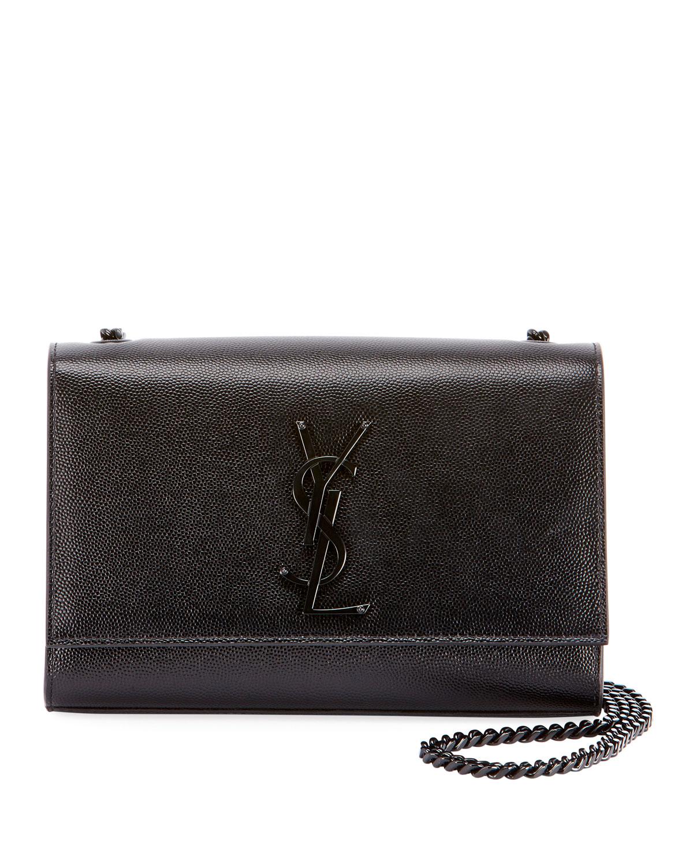 12d5284fad441 Saint Laurent Kate Small Monogram YSL Chain Shoulder Bag   Neiman Marcus