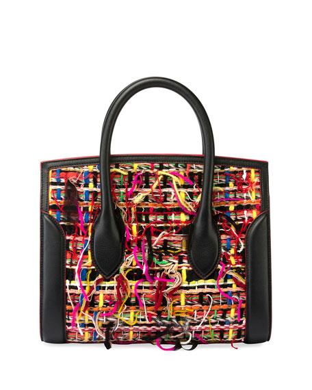Heroine 30 Small Tweed/Leather Tote Bag
