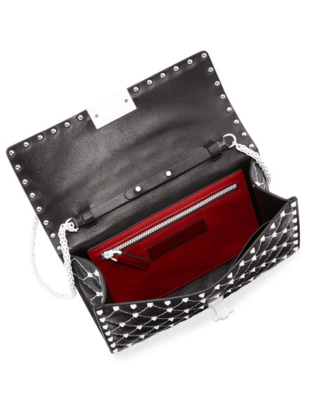 Free Rockstud Spike Small Quilted Shoulder Bag