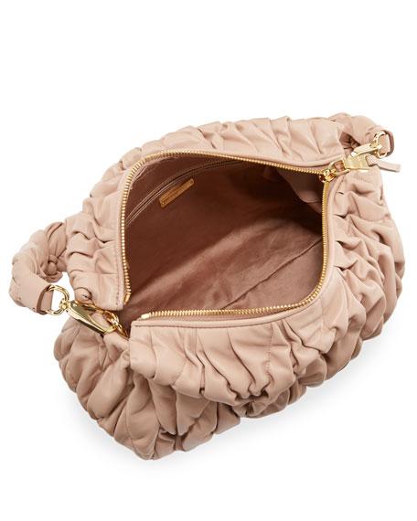 Matelasse Leather Tote Bag