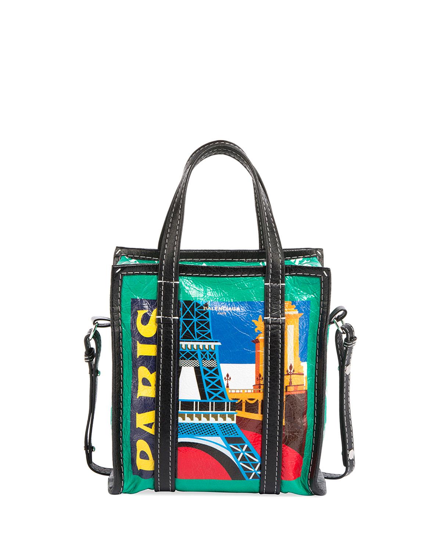 Bazar Per Extra Small Paris Print Tote Bag