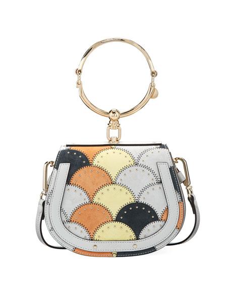 Chloe Nile Small Studded Stitched Bracelet Bag