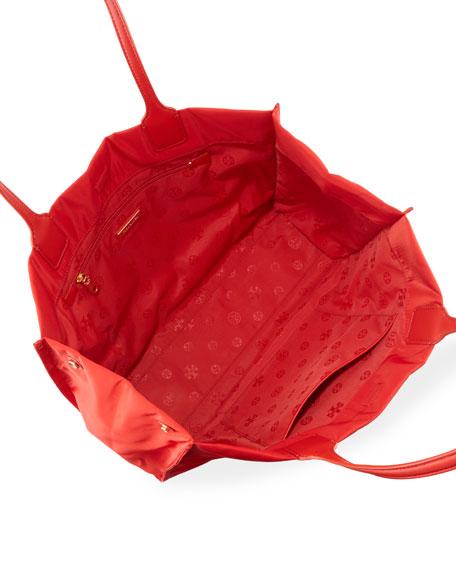 Tory Burch Ella Nylon Snap Tote Bag