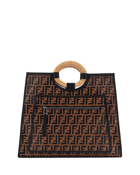 Cheap Fashion Style Fendi Runaway shopper tote For Sale Buy Authentic Online fUGHdyFGAG