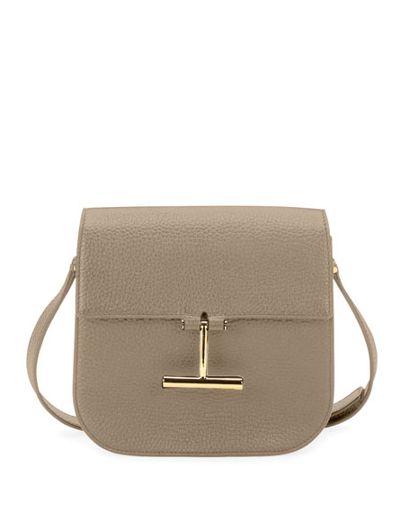 Tara Mini Grained Leather Crossbody Bag