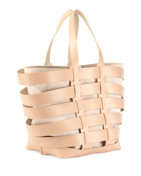 Paco Rabanne Cage East-West Tote Bag
