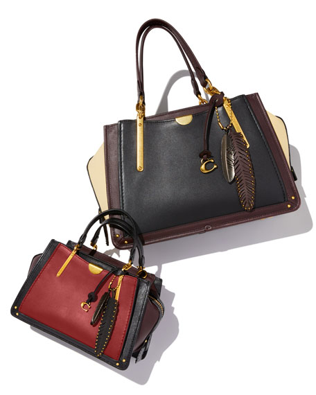 Dreamer 27 Glove-Tanned Leather Satchel Bag