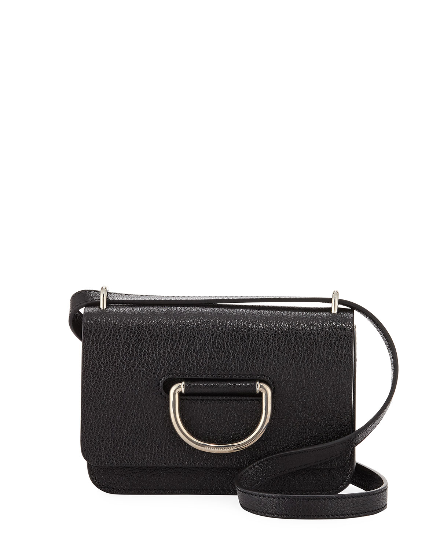 a75586dd Mini D-Ring Leather Crossbody Bag