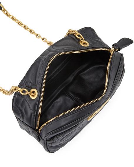Salvatore Ferragamo Quilting Leather Crossbody Camera Bag