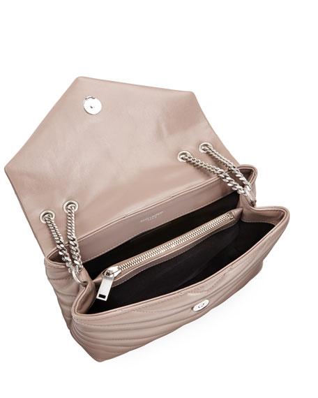 Saint Laurent Loulou Monogram YSL Small Chain Bag