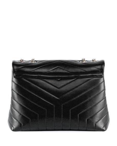 Loulou Monogram YSL Medium Chain Shoulder Bag