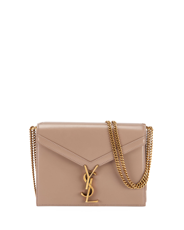 e4449af9777f Saint Laurent Marceau Monogram Chain Crossbody Bag