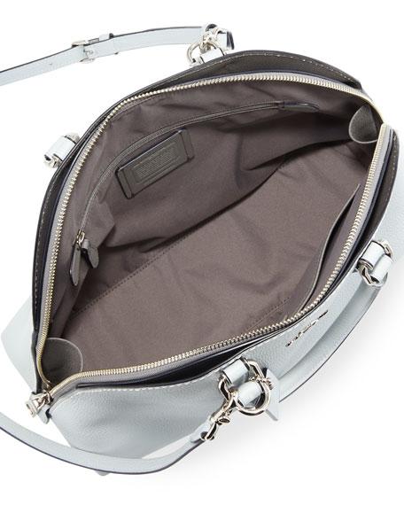 Coach 1941 Quinn Polished Leather Dome Satchel Bag