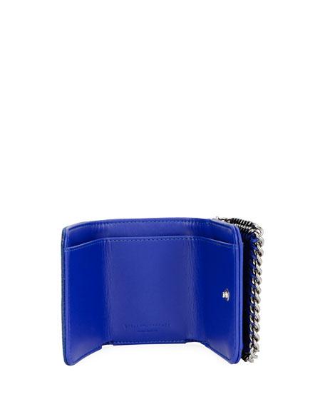 Stella McCartney Falabella Small Shaggy Deer Wallet