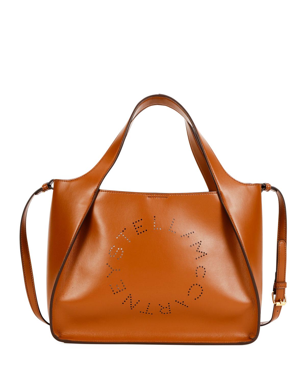 Stella McCartney Alter Napa Logo Crossbody Bag  acca12df5baaa