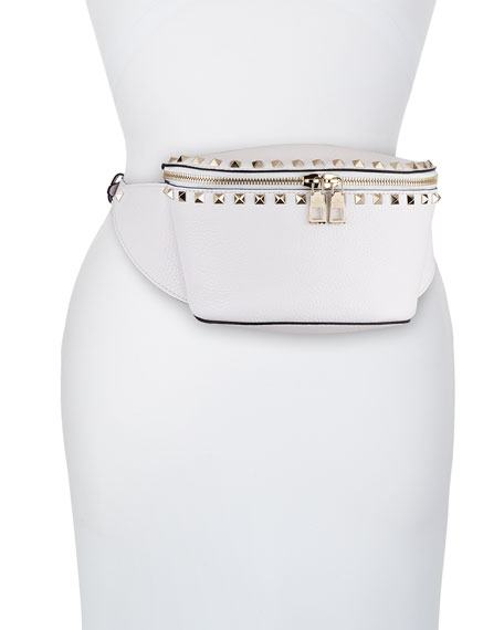 Valentino Garavani Rockstud Leather Belt Bag