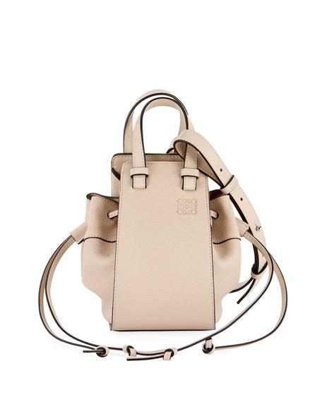 Loewe Hammock Mini Classic Shoulder Bag, Beige