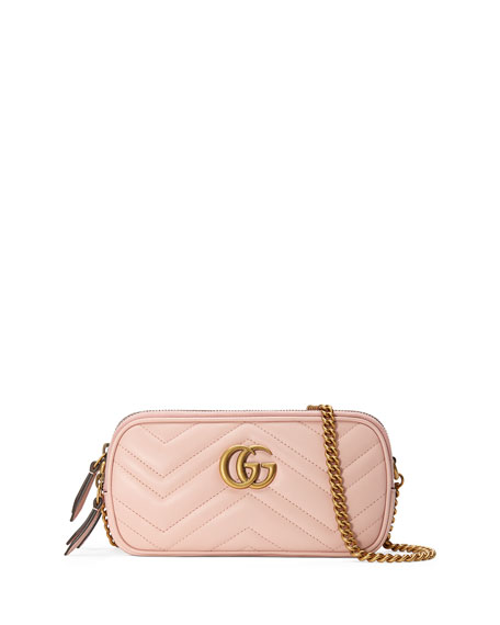 Gucci GG Marmont Mini Zip-Top Camera Case Bag